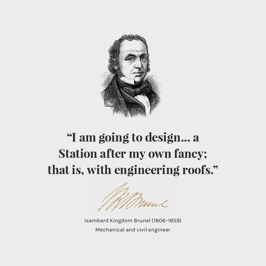 Brunel Quote Poster