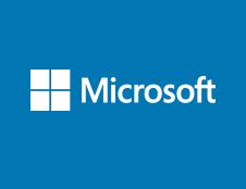 Paddington Gardens - Microsoft Logo