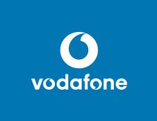 Paddington Gardens - Vodafone Logo