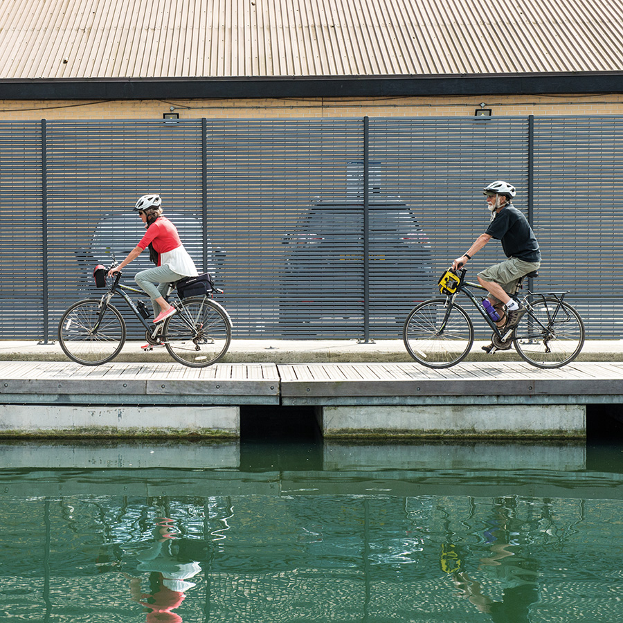Cycling Canal