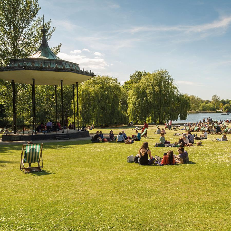 Regents Park garden